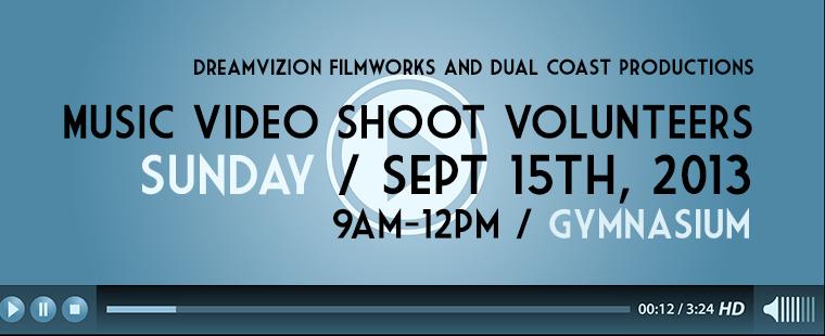Music Video Volunteers