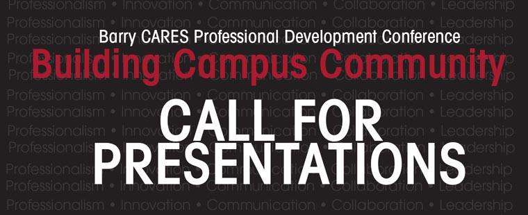 Barry Cares Professional Development Conference – Call for Presentations