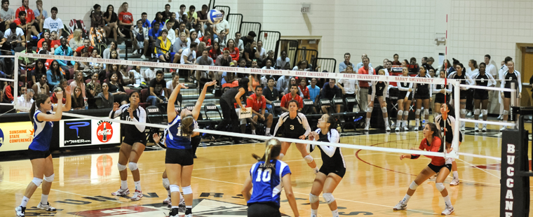 Bucs Volleyball Off to Eckerd Classic