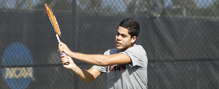 Men's Tennis Nabs 3 Singles Victories at Southern Intercollegiate