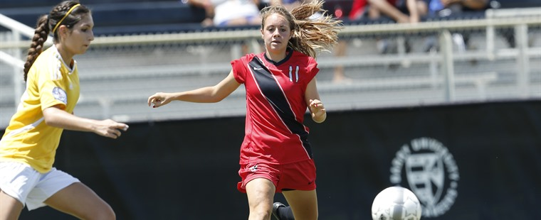 Women's Soccer Upends Saints To Stay Unbeaten