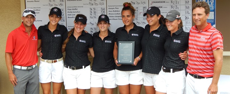 Bucs Women's Golf Win in Playoff