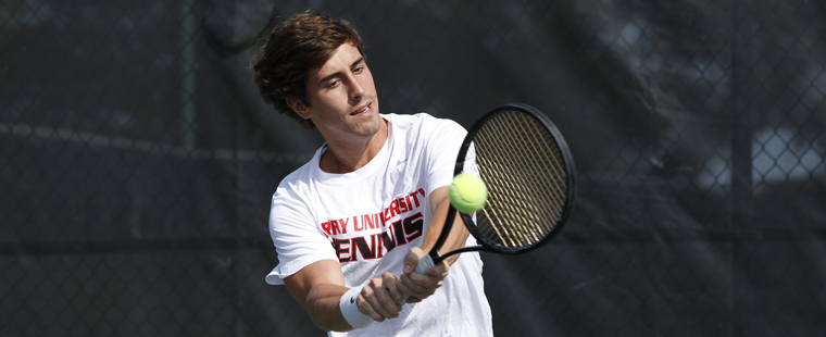 Lombardi Bests Alfonzo in Men's Tennis Singles Final
