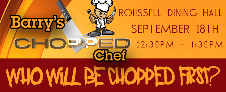 Barry's Chopped Chef