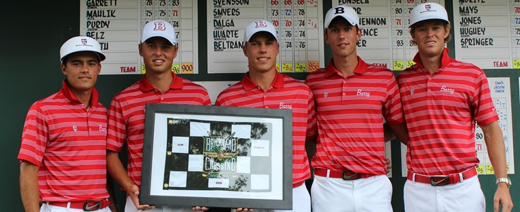 Svensson, Men's Golf Crowned Brickyard Champions