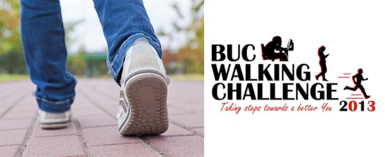 2013 BUC Walking Challenge
