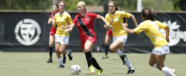 Women's Soccer Nipped By Fifth-Ranked Spartans