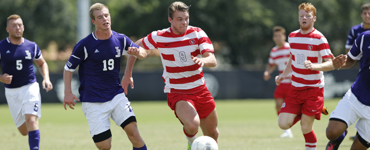 Men's Soccer Stumbles At Home Against 18th-Ranked Spartans