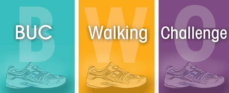 Join the 2013 BUC Walking Challenge