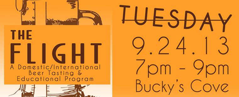 The Flight: Beer Tasting and Educational Program