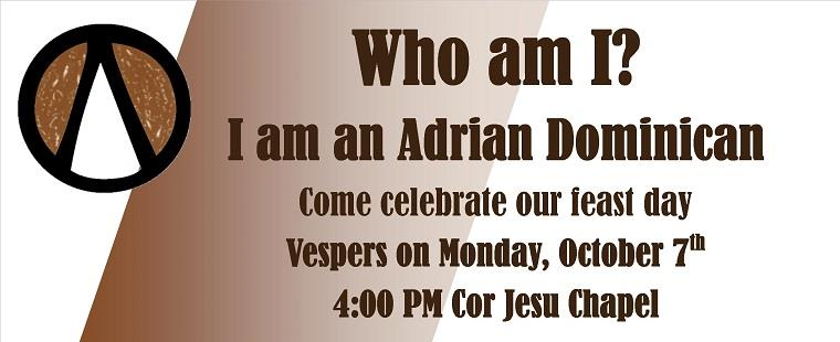 Feast Day of the Adrian Dominican Sisters