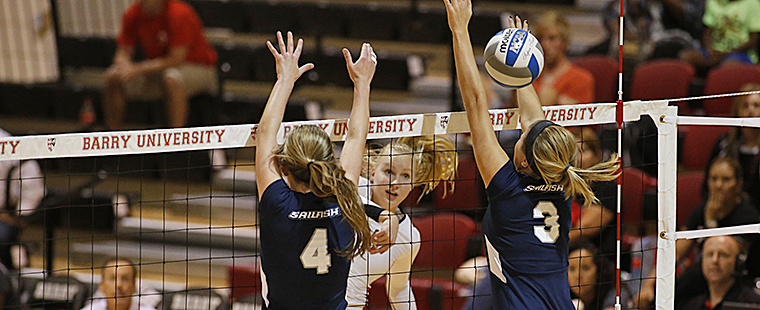Volleyball Falls to No. 28 Palm Beach Atlantic