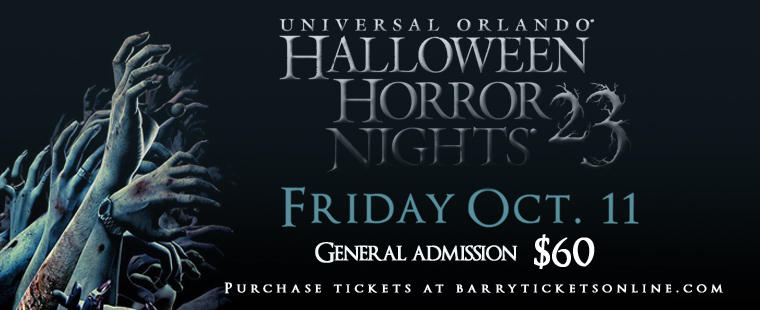 UNIVERSAL ORLANDO HALLOWEEN HORROR NIGHTS 23