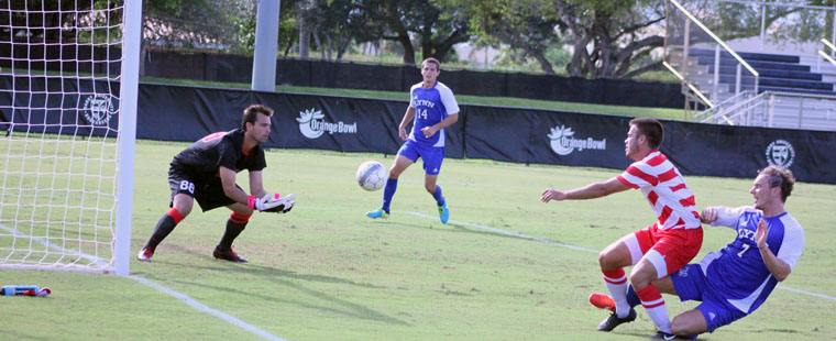 Men's Soccer Defeats Rival 'Knights