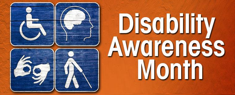 Disability Awareness Month – Move for Disability