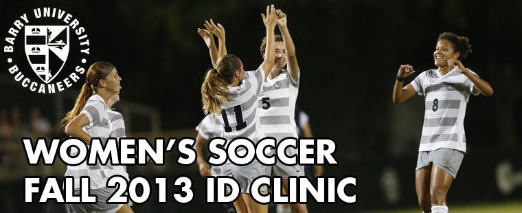 Women's Soccer 2013 Fall ID Clinic