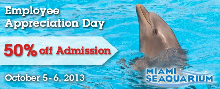 Barry University Employee Appreciation Day at Miami Seaquarium