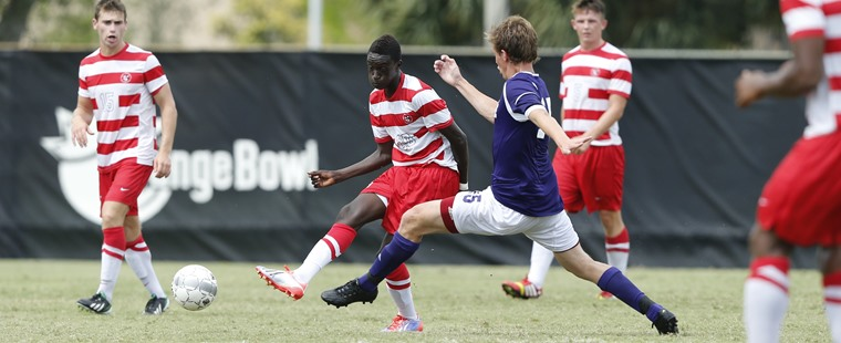 Men's Soccer Drops Shootout With Sailfish