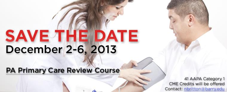 PA Primary Care Review Course