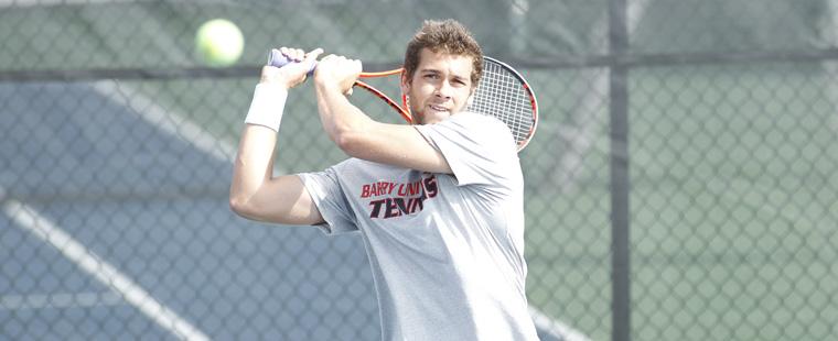 Men's Tennis Rolls into Varner Invitational Semifinals