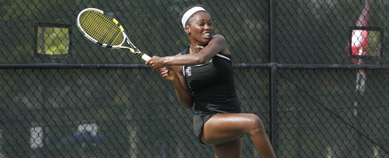 Three Women's Tennis Bucs Playing for Varner Finals