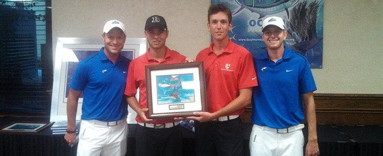 No. 1 Men's Golf Crowned Guy Harvey Invitational Champs