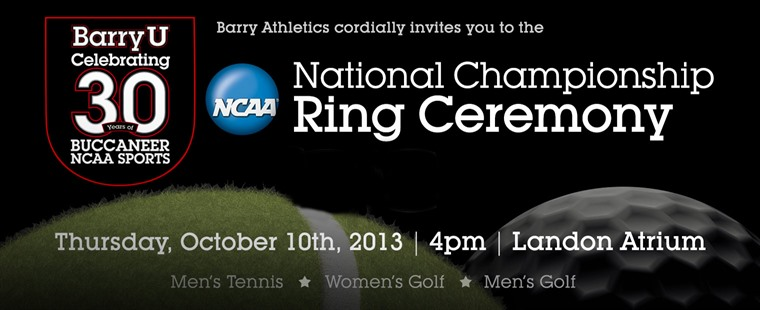 National Champions To Get Rings On Thursday