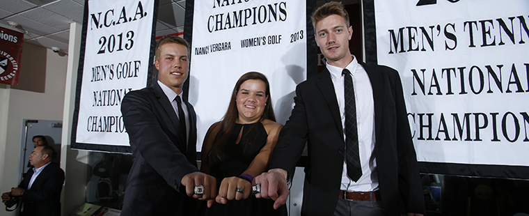 Buccaneer National Champions Receive Rings