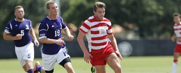 Men's Soccer Throttles Sharks To Close Rivalry Week