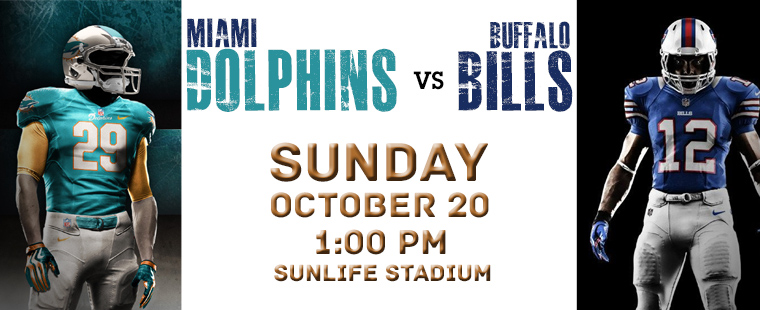 Dolphins vs Bills at SunLife Stadium