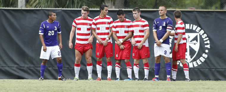Men's Soccer Sunk By 2nd-Ranked Tars