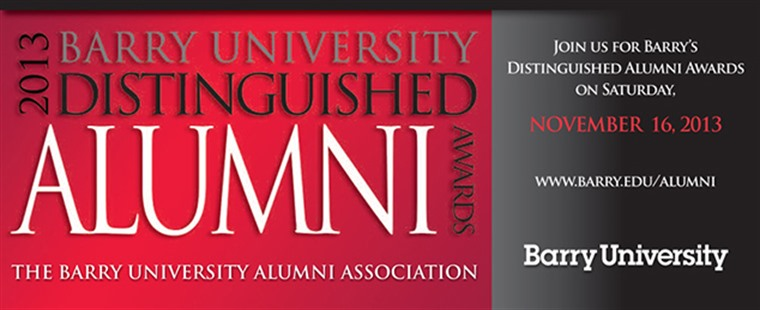 2013 Barry University Distinguished Alumni Awards