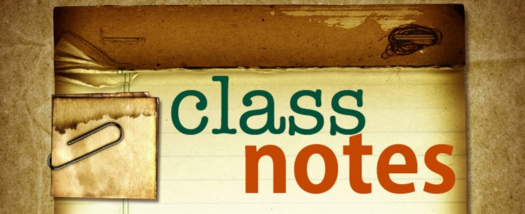 Barry University Class Notes - October Edition
