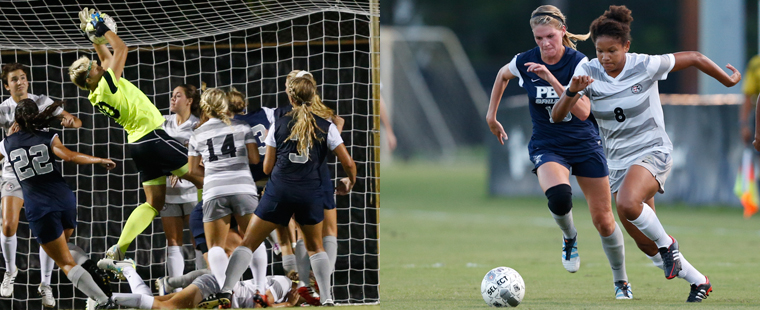 Nkomo and Rogers Sweep Women's Soccer Players of the Week