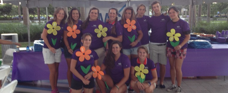 Women's Golf Participates in Alzheimer's Walk