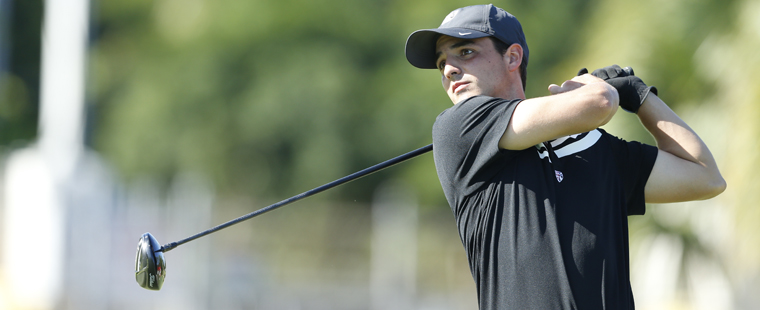 Men's Golf's Cavero Leads JWU Tournament
