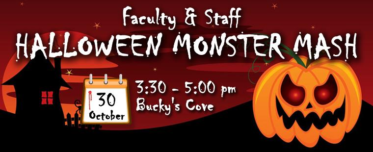 Faculty & Staff Halloween Monster Mash