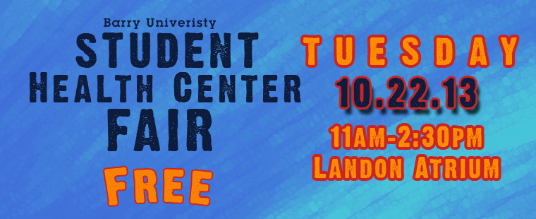 Student Health Center Fair