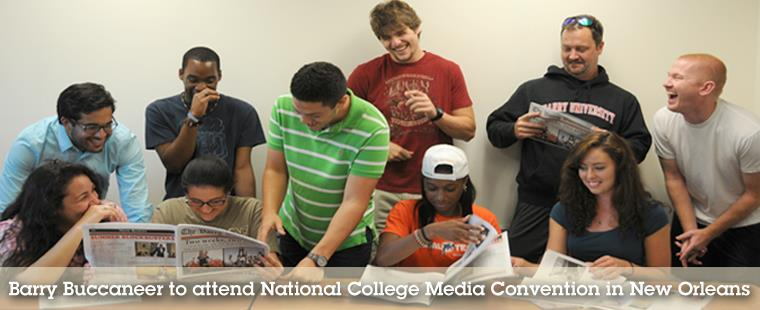 Barry Buccaneer to attend National College Media Convention in New Orleans