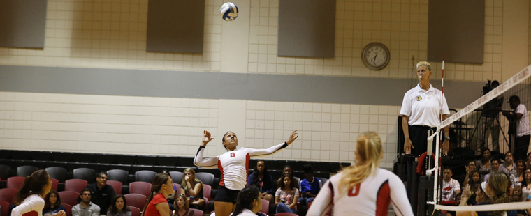 Volleyball Clipped in All-Buccaneers Match