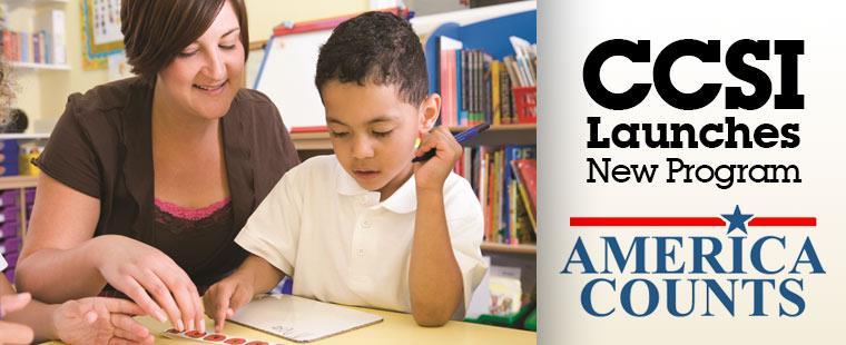 CCSI Launches America Counts Program