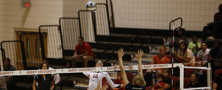 Volleyball Sweeps Valdosta State