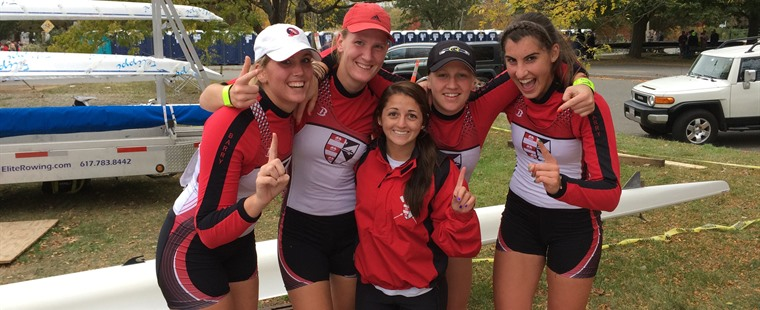 Rowing Wins Head of Charles