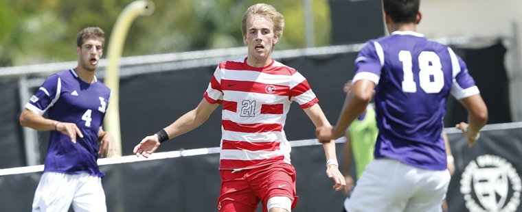 Men's Soccer Powers Past Panthers