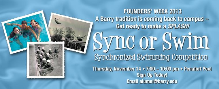 Founder's Week – Sync or Swim