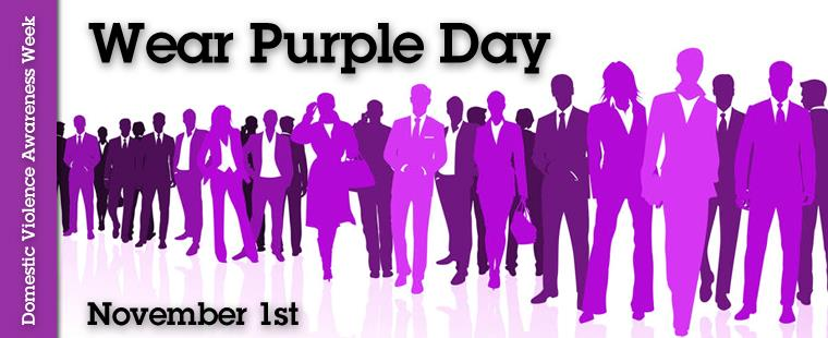 Domestic Violence Awareness Month – Wear Purple Day