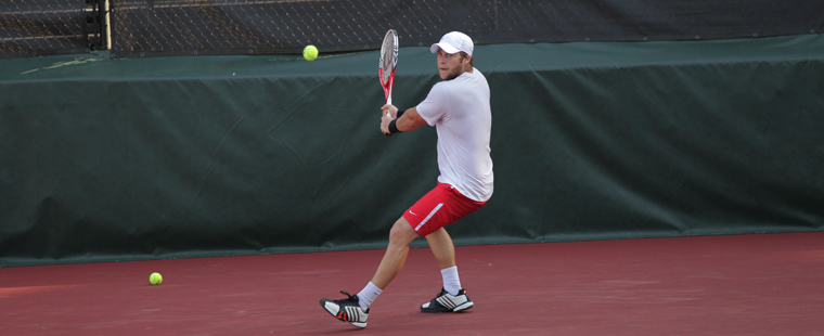 Vivas Falls in Men's Tennis Semifinals