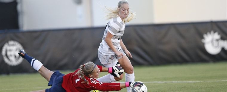 Women's Soccer Dispatches Knights To Clinch SSC Tournament Berth
