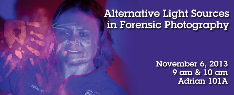 Alternative Light Sources in Forensic Photography