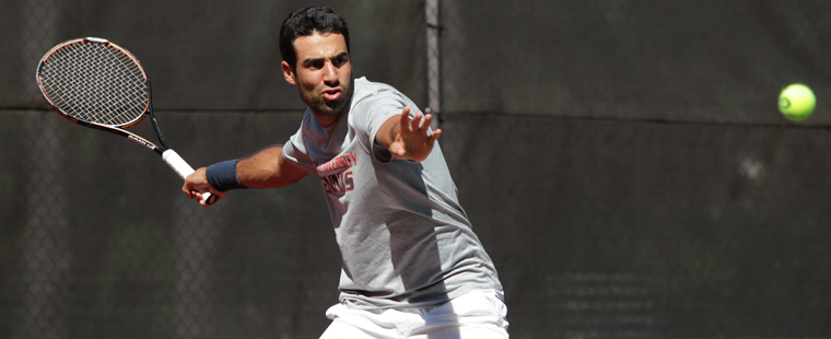 Men's Tennis: Day 1 at FGCU Invitational